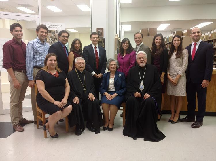 St  Sophia Seminary - St  Sophia Seminary Library Honors Rev
